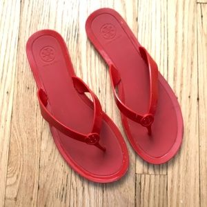Tory Burch Flip Flops Red